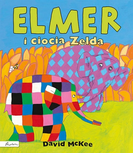 Elmer i ciocia Zelda - David McKee   okładka