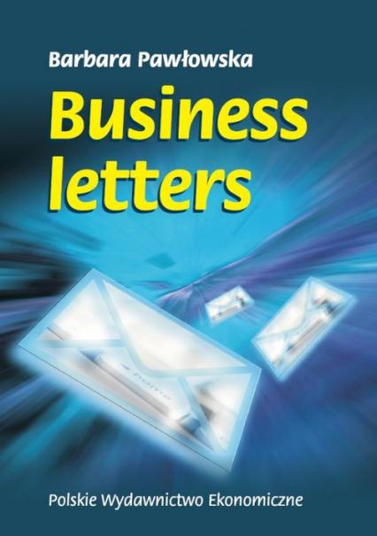 Business Letters - Barbara Pawłowska | okładka