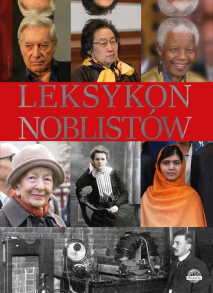 Leksykon noblistów - Krzysztof Ulanowski   okładka