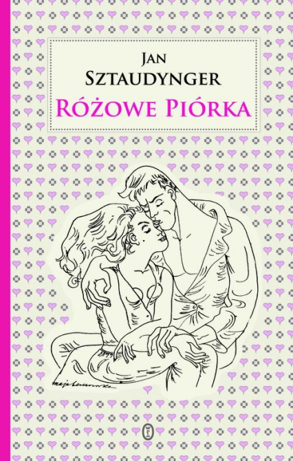 Różowe piórka - Jan Sztaudynger | okładka