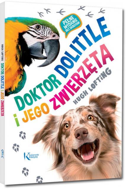 Doktor Dolittle i jego zwierzęta - Hugh Lofting   okładka