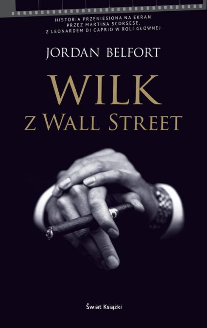 Wilk z Wall Street - Jordan Belfort | okładka