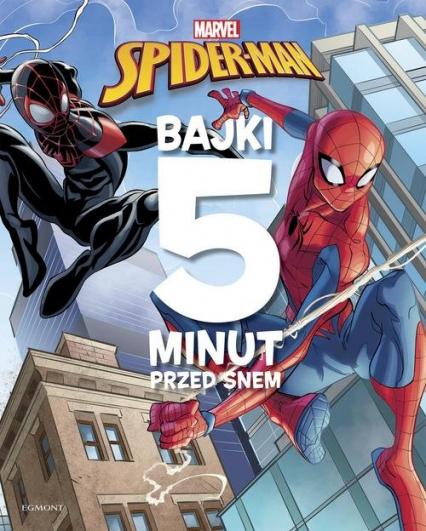 Spider-Man Bajki 5 minut przed snem -    okładka