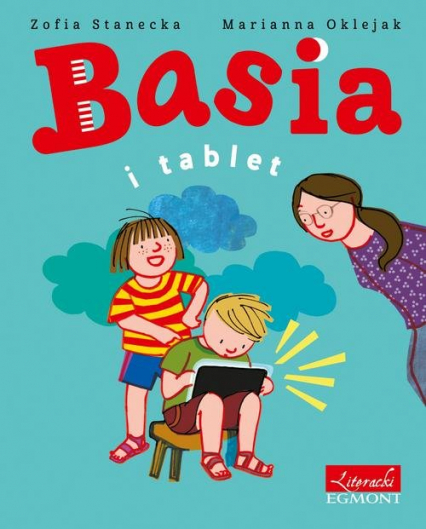 Basia i tablet - Zofia Stanecka | okładka