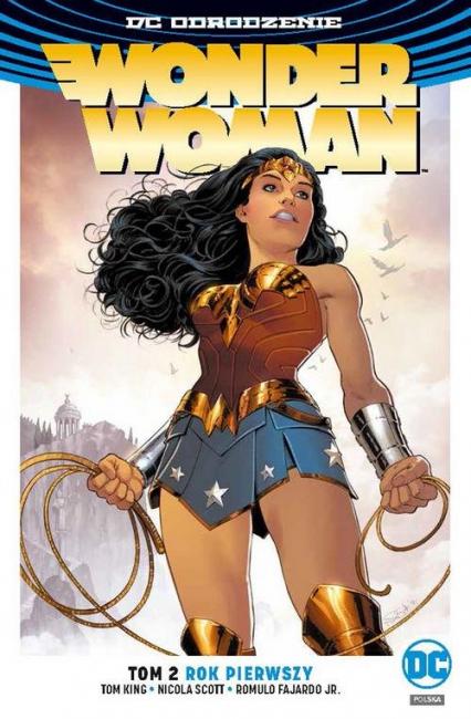 Wonder Woman Tom 2 Rok pierwszy - Rucka Greg, Scott Nicola, FajardoJr. Romulo | okładka