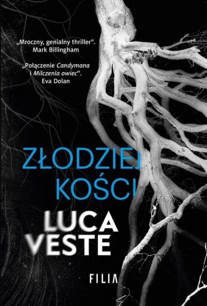 Złodziej kości - Luca Veste | okładka