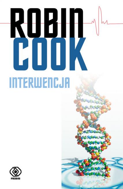 Interwencja - Robin Cook | okładka