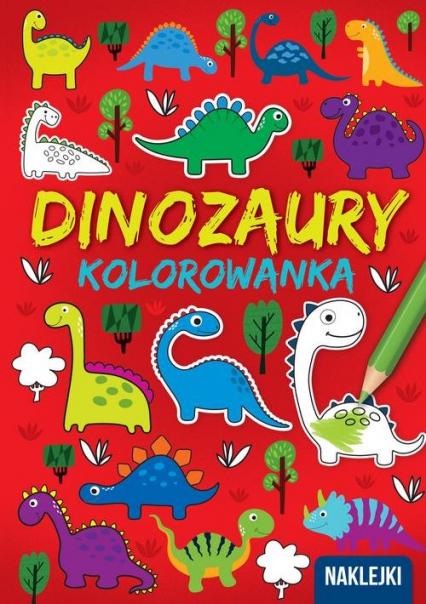 Kolorowanka A4  Dinozaury -    okładka