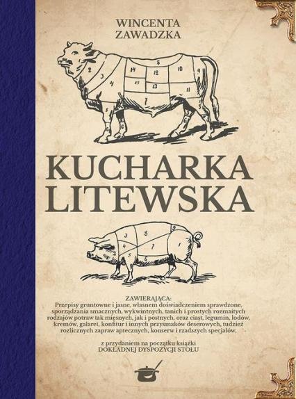 Kucharka litewska - Wincentyna Zawadzka   okładka