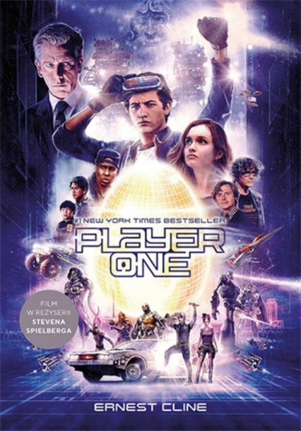 Player One - Ernest Cline | okładka