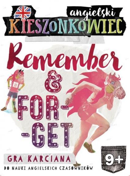 Kieszonkowiec angielski Remember Forget (9+) - Dorota Kondrat | okładka