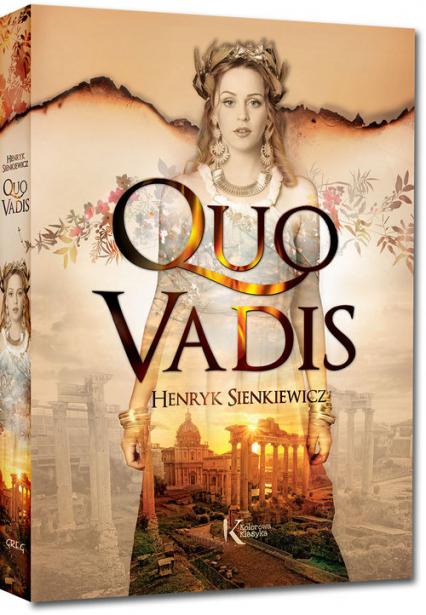 Quo vadis - Henryk Sienkiewicz   okładka