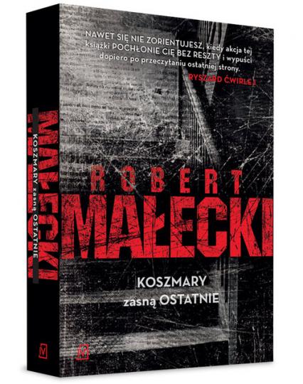 Koszmary zasną ostatnie - Robert Małecki | okładka