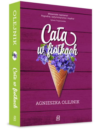 Cała w fiołkach - Agnieszka Olejnik   okładka