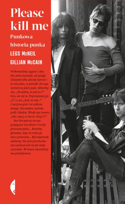 Please kill me Punkowa historia punka - McCain Gillian, McNeil Legs | okładka