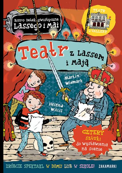 Teatr z Lassem i Mają - Martin Widmark   okładka