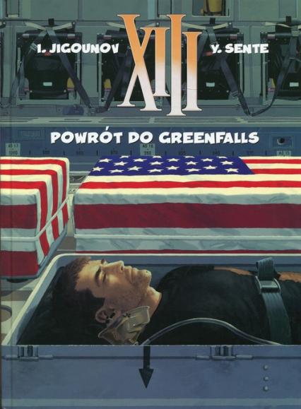 XIII 22 Powrót do Greenfalls - Yves Sente   okładka