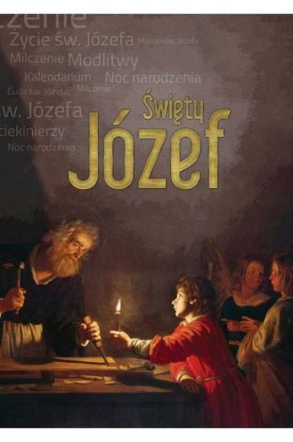 Święty Józef - Anna Dąbrowska | okładka