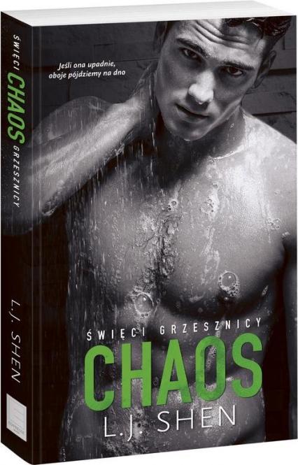 Święci grzesznicy Chaos - L.J. Shen | okładka