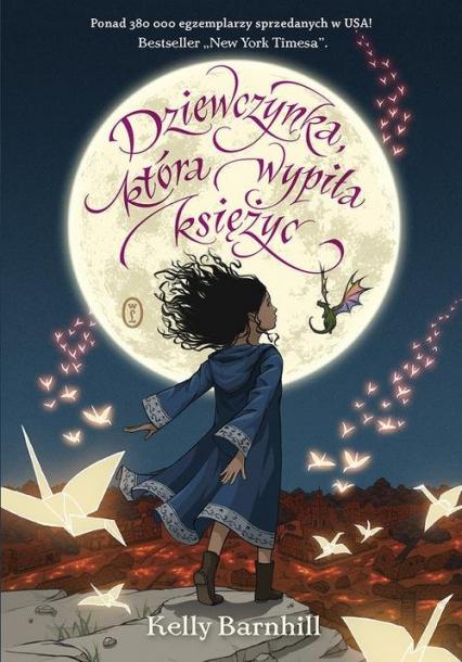 Dziewczynka która wypiła księżyc - Kelly Barnhill | okładka
