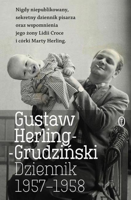 Dziennik 1957-1958 - Gustaw Herling-Grudziński | okładka