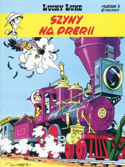 Lucky Luke Tom 9 Szyny na prerii - Rene Goscinny | okładka