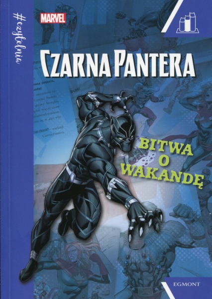 Marvel Czarna Pantera Bitwa o Wakandę Seria niebieska - Snider Brandon T. | okładka