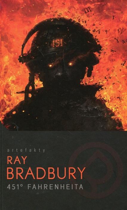 451 stopni Fahrenheita - Ray Bradbury   okładka