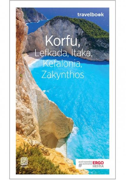 Korfu Lefkada Itaka Kefalonia Zakynthos Travelbook - Korwin-Kochanowski Mikołaj, Snoch Dorota | okładka