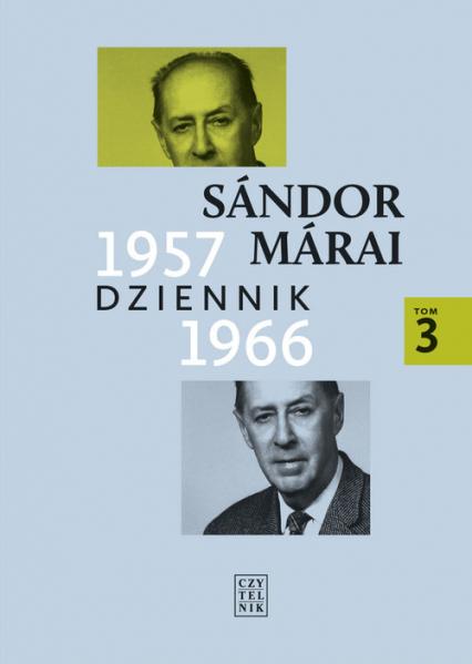 Dziennik 1957-1966 - Sandor Marai | okładka