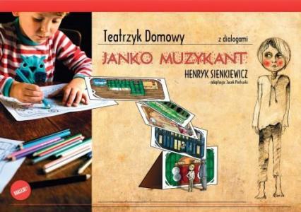 Teatrzyk domowy Janko Muzykant - zbiorowa Praca | okładka