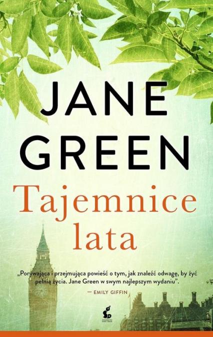 Tajemnice lata - Jane Green | okładka