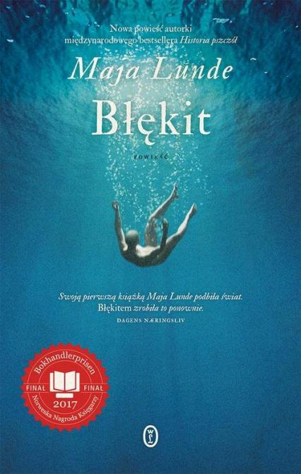 Błękit - Maja Lunde | okładka