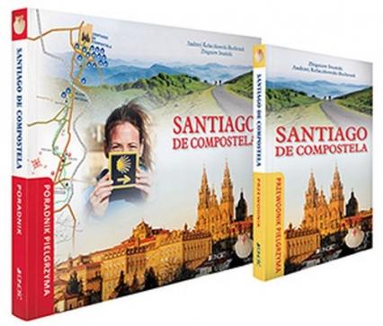 Santiago de Compostela Poradnik i przewodnik pielgrzyma - Iwański Zbigniew, Kołaczkowski-Bochenek Andrzej | okładka