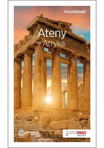 Ateny i Attyka Travelbook - Agnieszka Zawistowska | okładka