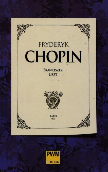 Fryderyk Chopin - Franciszek Liszt | okładka