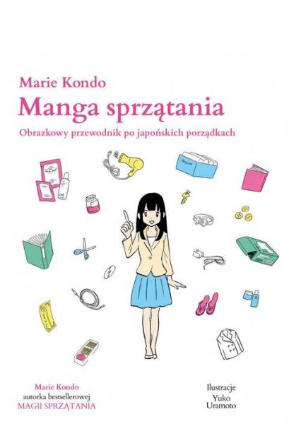 Manga sprzątania - Marie Kondo | okładka