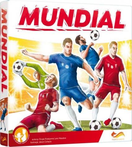 Mundial Gra planszowa - zbiorowe Opracowanie   okładka