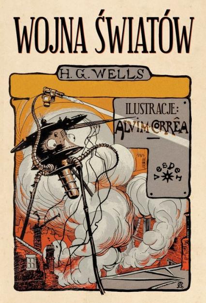 Wojna światów - Wells Herbert George   okładka