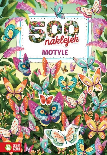 500 naklejek Motyle -  | okładka