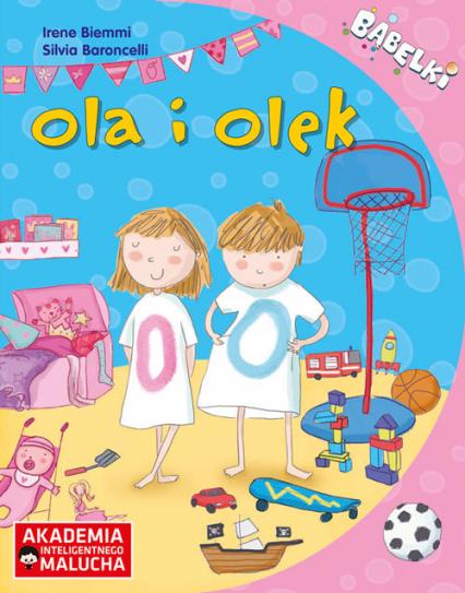 AIM: Bąbelki. Ola I Olek 4-6 lat -    okładka