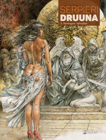 Druuna Tom 3 Mandragora Aphrodisia - Serpieri Paolo Eleuteri   okładka