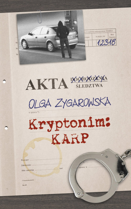 Kryptonim Karp - Olga Zygarowska | okładka
