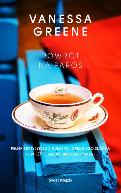 Powrót na Paros - Vanessa Greene | okładka