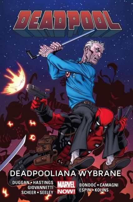 Deadpool Tom 10 Deadpooliana wybrane - Dugga Gerry, Hastings Christopher, Scheer Paul, Giovannetti Nick, Seeley Tim, Bondoc Elmo, Camagni J   okładka