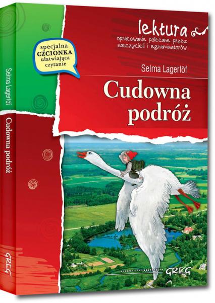 Cudowna podróż - Selma Lagerlof   okładka