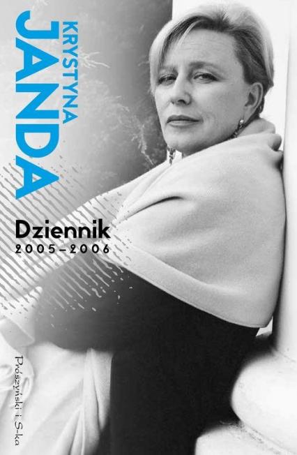 Dziennik 2005 - 2006 - Krystyna Janda | okładka