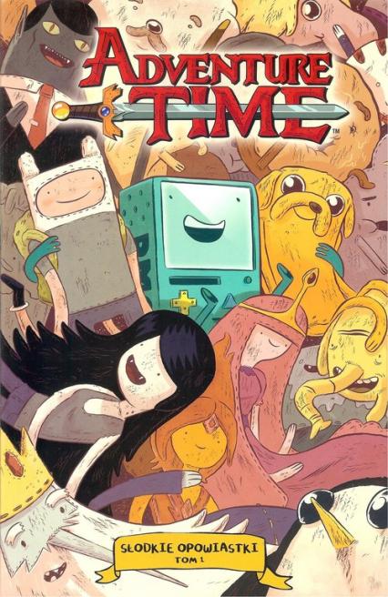 Adventure time. Słodkie opowiastki 1 - zbiorowa Praca   okładka