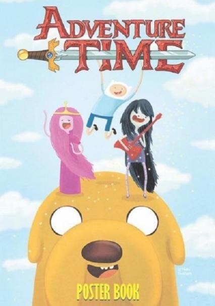 Adventure Time - POSTER BOOK / Studio JG - zbiorowa Praca   okładka