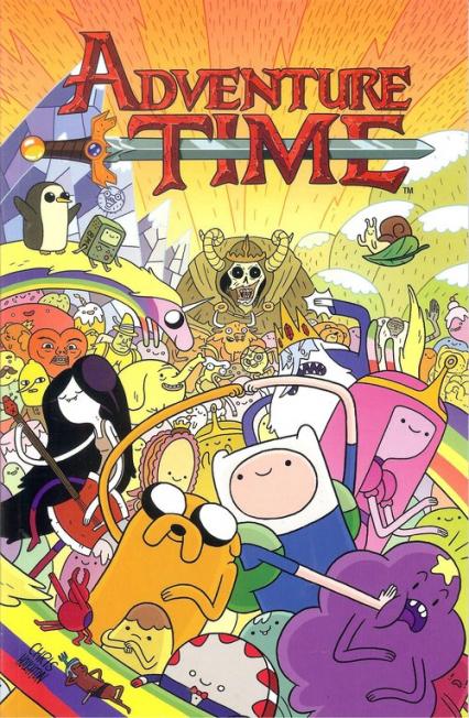 Adventure time 1 / Studio JG - zbiorowa Praca | okładka